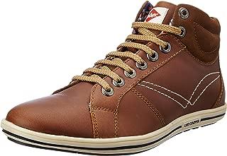 Lee Cooper Men's Lc1287etan Leather Sneakers