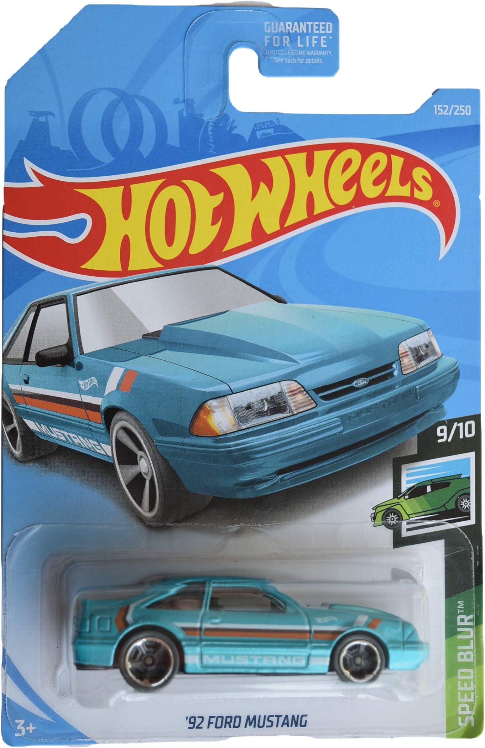 Hot Wheels 2020 HW Art Cars /'92 FORD MUSTANG tan 1//10 90//250 FOX BODY