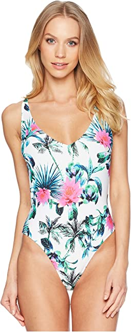 Palms Away One-Piece