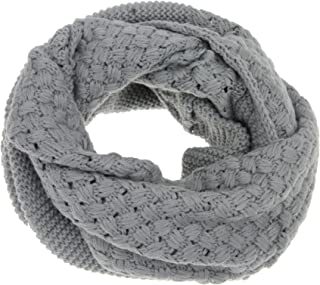 FakeFace Women Girls Winter Soft Warm Knitted Scarves Collar O Ring Loop Snood Scarf