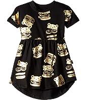 Huxburger Swirl Dress (Infant/Toddler)