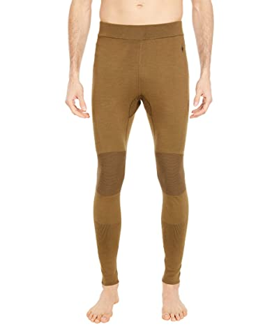 Smartwool Intraknit Merino 200 Bottoms (Military Olive/Black) Men