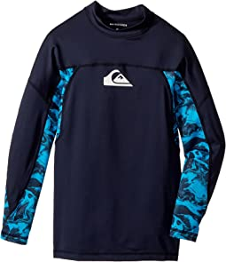 Quiksilver Kids - Slash Long Sleeve Rashguard (Big Kids)