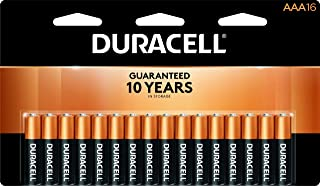 Duracell - CopperTop AAA Alkaline Batteries - long lasting, all-purpose Triple A battery for household and business - 16 Count