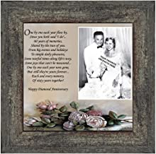 Personally Yours Diamond, 60th Anniversary Picture Frame, Diamond, 10x10 6782BW