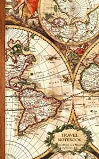 Travel Notebook: Gifts / Gift / Presents ( Ruled Traveler's Notebook with Antique Map Cover ) (Travel & World Cultures)