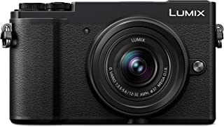 Panasonic LUMIX G - DC-GX9KGC-K - 20.3MP, Micro Four Thirds Mirrorless 4K Camera with 12-32mm Lens
