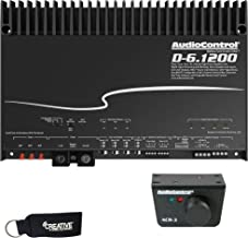 AudioControl D-6.1200 6-Channel Car Amplifier with Digital Signal Processing & ACR-3 Dash Remote