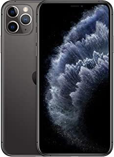 Apple iPhone 11 Pro Max with FaceTime - 64GB, 4G LTE, Space Gray - International Version