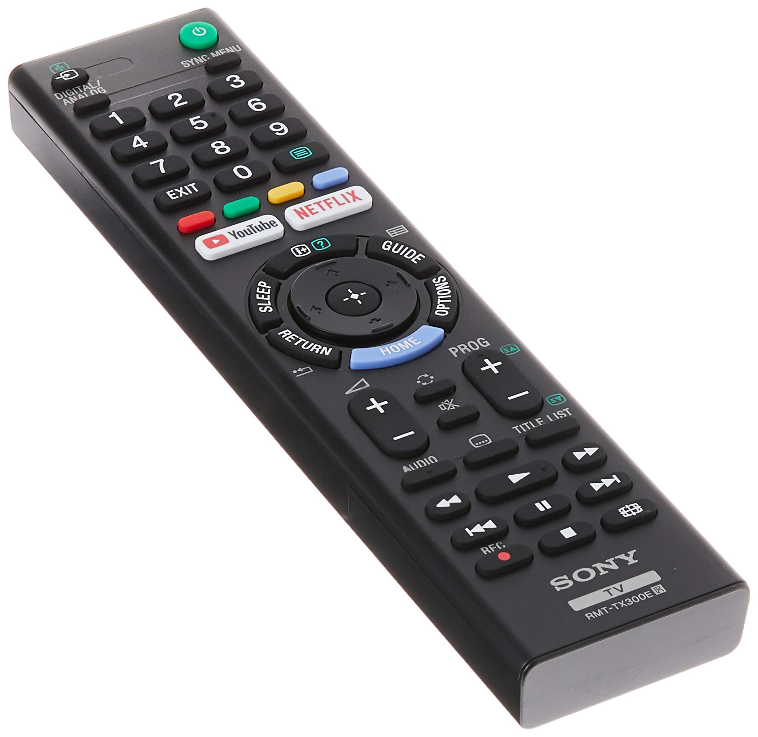 Sony RMT-TX300E / RMTTX300E Mando a distancia original para television Sony: Amazon.es: Electrónica