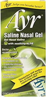 Ascher B.F.and Company INC. AYR Saline Nasal Gel 0.5 oz (Pack of 5)