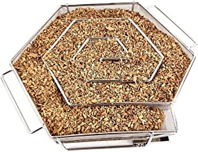 A-SKA Cold Smoke Generator for BBQ Grill or Smoker Wood Chips dust Hot and Cold Smoking Salmon Meat Burn