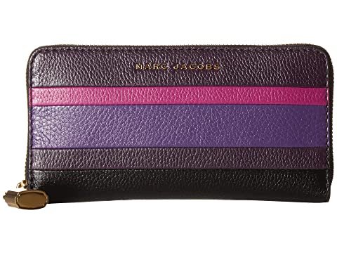 Marc Jacobs The Grind Color Blocked Standard Continental Wallet