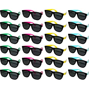 FSMILING Paquete de 8 Gafas de Sol Sin Montura en Corazon Transparentes para Ni/ñas Mujer Fiesta