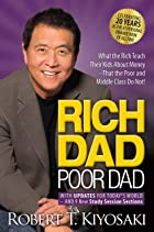 Cover image of Rich Dad Poor Dad by Robert T. Kiyosaki