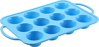 The Original Brand, TRENDS home 12 Silicone Cupcake Baking Cups, Silicone Muffin Pan, Silicone Molds for baking. Silicone baking pans with a reinforced frame for strength and flexibility of silicone.