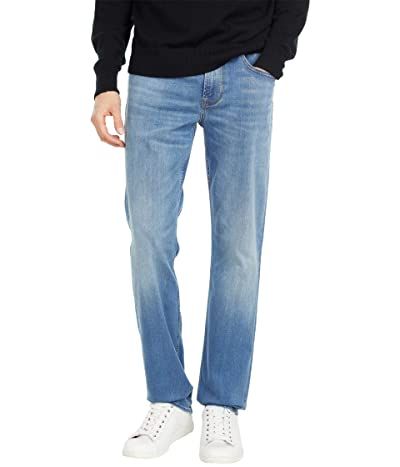 Hudson Jeans Byron Five-Pocket Straight Zip Fly in Interfere (Interfere) Men
