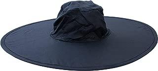 Twist-and-Fold Hat Foldable Nylon Sun Hat, 18 in Diameter Brim