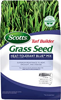 Scotts 18296 Turf Builder Grass Seed-Heat Tolerant Blue Mix 3Lb