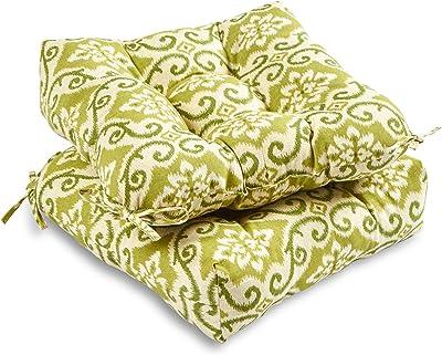 Amazon.com : AmazonBasics Tufted Outdoor Seat Patio Cushion ...