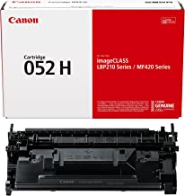 Canon Genuine Toner Cartridge 052 Black, High Capacity...
