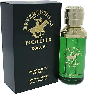 Beverly Hills Polo Club Rogue Eau de Toilette Spray for Men, 3.4 Ounce