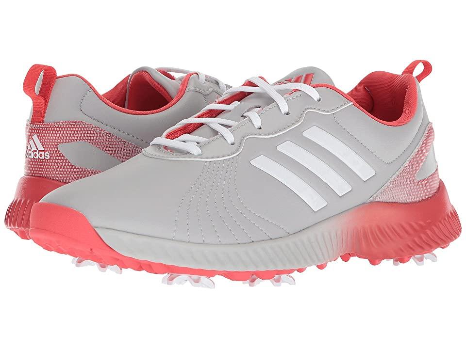 adidas Golf Response Bounce (Grey Two/Footwear White/Real Coral) Women
