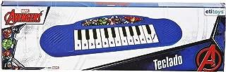Disney Piano Musial Avengers Azul/Branco
