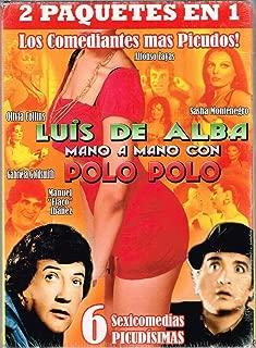 LOS COMEDIANTES MAS PICUDOS 2 PAQUETES EN 1 [LUIS DE ALBA MANO A MANO CON POLO POLO] 6 PELICULAS [LA CORNETA DE MI GENERAL/LAS CARINOSAS/LOS PELOTONES DE JUAN CAMANEY/DANDO Y DANDO PAJARITO VOLANDO/LA CASITA DEL PECADO/SOLO PARA ADULTEROS].