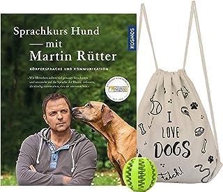 Kosmos språkkurs hund med martin router + snygg hundpåse och gratis hund-bollboll för tandvård