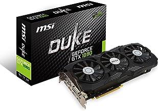 MSI Gaming GeForce GTX 1080 8GB GDDR5X SLI DirectX 12 VR Ready Graphics Card (GTX 1080 DUKE 8G OC)