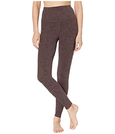 Beyond Yoga Spacedye High-Waist Midi Leggings (Terra Leather/Earth) Women