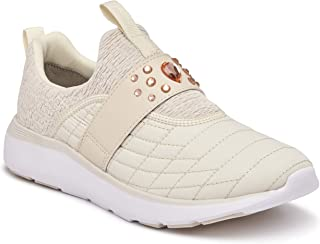 Vionic Women's Delmar Dianne Walking Shoes - Ladies Casual Sneakers with Concealed Orthotic Arch Support