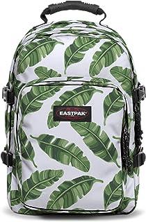 Eastpak Provider Sac àDos, 44 cm, 33 L, Blanc (Brize Leaves Natural)