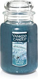 شمع معطر Yankee شمع معطر ، آبی بزرگ ، یخی