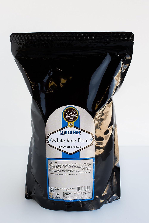 New Grains Gluten Free Sweet Rice Flour half White 5 Quantity limited lbs