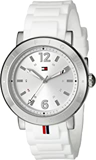Tommy Hilfiger Women's 1781616 Casual Sport Analog Display Quartz White Watch