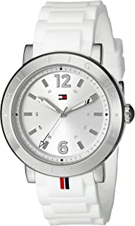 Tommy Hilfiger Women's 1781616 Casual Sport Analog Display Quartz White Watch