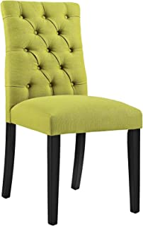 Modway EEI-2231 MO- Duchess Modern Tufted Button Upholstered Fabric Parsons, Dining Chair, Wheatgrass
