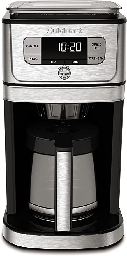 Cuisinart automatic burr grinder coffee machine