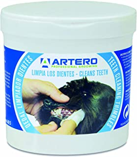 Artero Dedales Limpiadores para los dientes de perros y