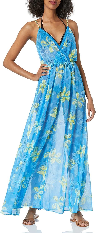 Ramy Brook Women's Standard Floral Printed Cienna Coverup Maxi Dress