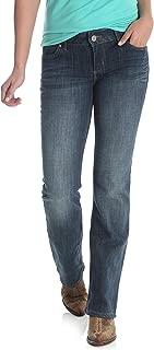Women's Western Mid Rise Stretch Boot Cut Jean