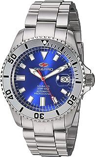 Seapro Men's Scuba 200 Automatic Stainless Steel Strap, Silver, 22 Casual Watch (Model: SP4316)