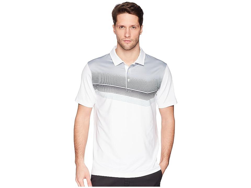PUMA Golf Road Map Polo (Bright White/Peacoat) Men