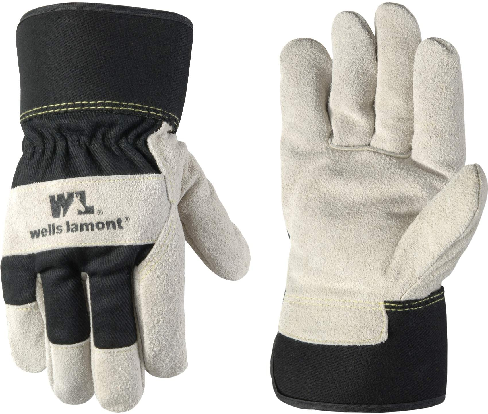 A work glove TERRYTOP Synthetic Leather Padded Fleece Size l//9