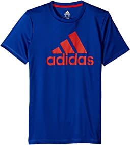 adidas Kids Badge of Sport Tee (Big Kids)
