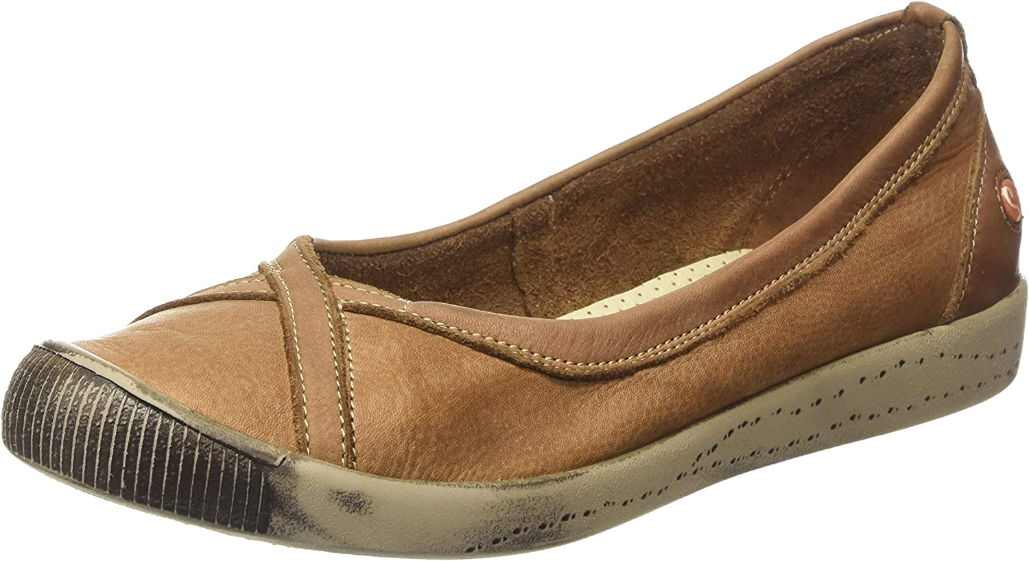 Softinos Womens Ilma Leather shoes