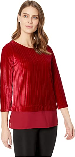 Velvet 2-Pher Knit Top