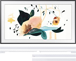 "Samsung QN65LS03TA 65"" The Frame 4K Ultra High Definition Smart QLED TV with a Samsung VG-SCFT65WT 65"" White Customization Bezel for The Frame TV (2020)"